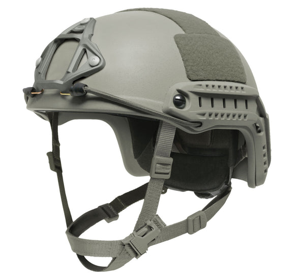Ops-Core FAST Maritime Helmet with EPP/OCC Dial Fitband, Folliage Green, M/L
