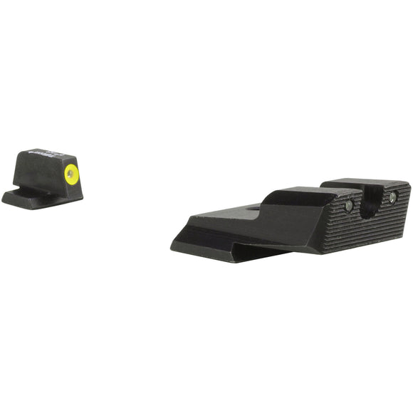 Trijicon HD XR Night Sight w/Thin Front Sight, S&W M&P/SD9 VE/SD40 VE - Yellow