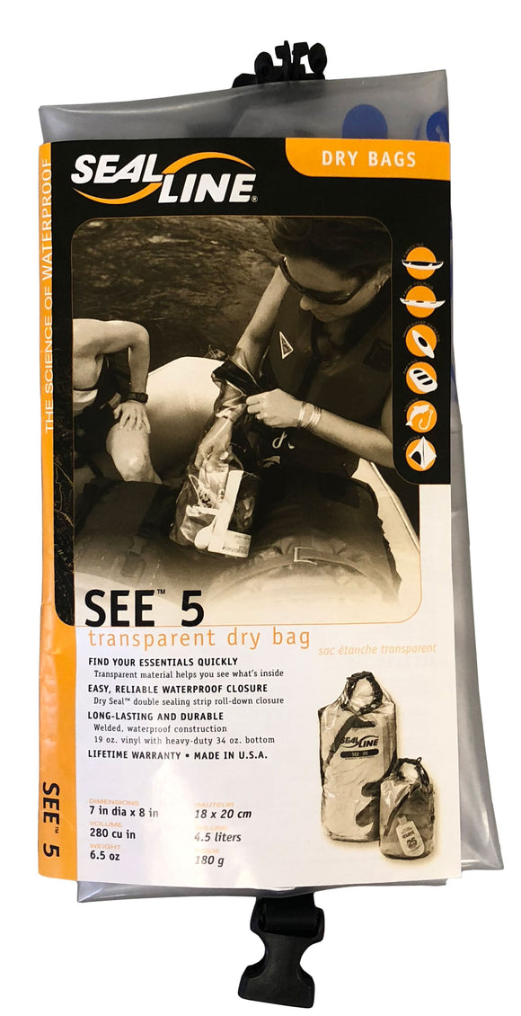 Seal Line See Transparent Dry Bag