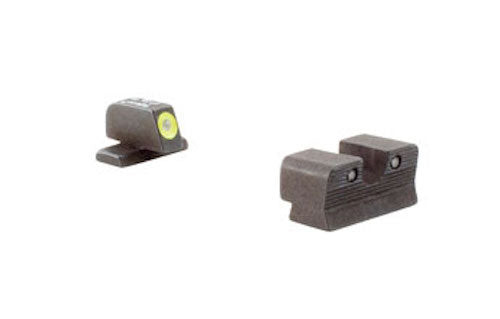 Trijicon HD XR  Night Sight w/Thin Front Sight, SIG 9/357 - Yellow