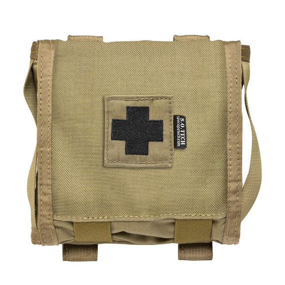 S.O. Tech Tactical Viper Flat LE A1 First Aid Kits, Coyote Brown