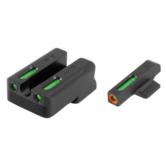 TruGlo TFX Pro Tritium/Fiber-Optic Day/Night Sight, 1911 260/450 Set