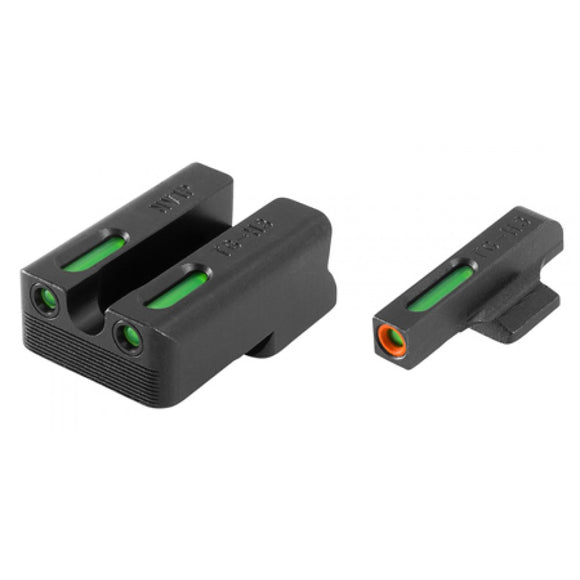 TruGlo TFX Pro Tritium/Fiber-Optic Day/Night Sight, 1911 270/450 Set