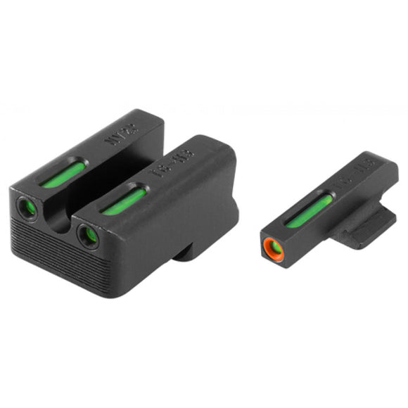 TruGlo TFX Pro Tritium/Fiber-Optic Day/Night Sight, 1911 260/500 Set