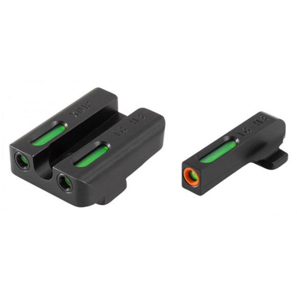 TruGlo TFX Pro Tritium/Fiber-Optic Day/Night Sight, Springfield XD Set