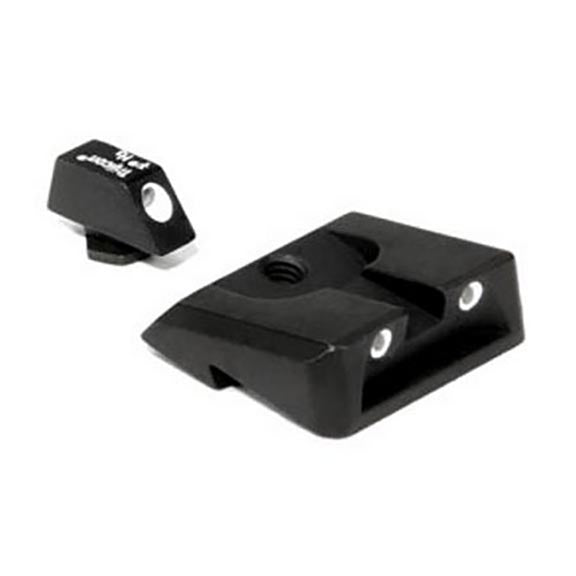 Trijicon SA22 S&W .40 Novak Sigma Rear 3 Dot Night Sight Set