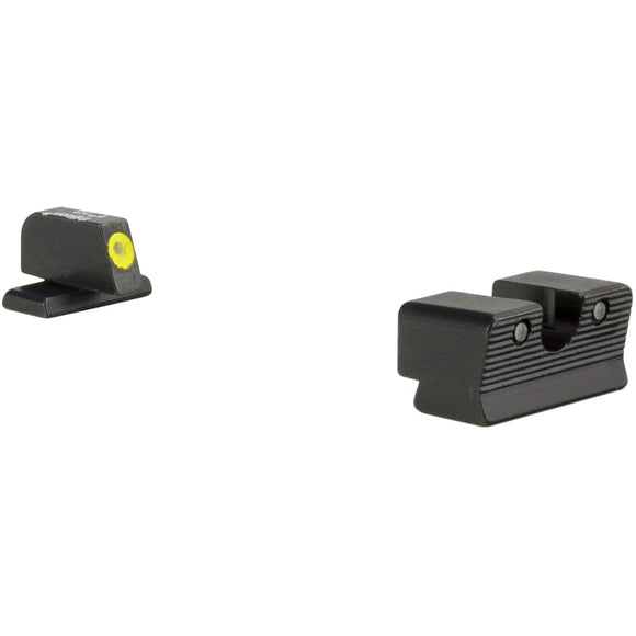 Trijicon HD XR Night Sight w/Thin Front Sight, SIG 40/45 - Yellow