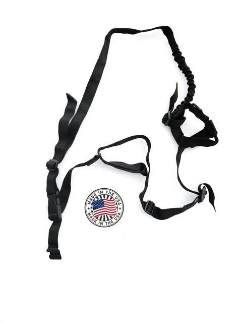 Kley-Zion 3 Point Bungee Black Sling