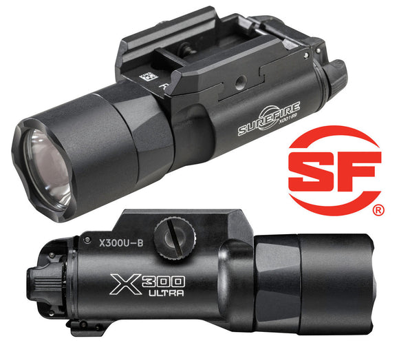 Surefire X300 B Ultra 1000 Lumen Light w/T-Slot Mount