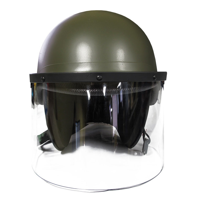 United Shield Premier Crown 906 Riot Helmet - OD Green