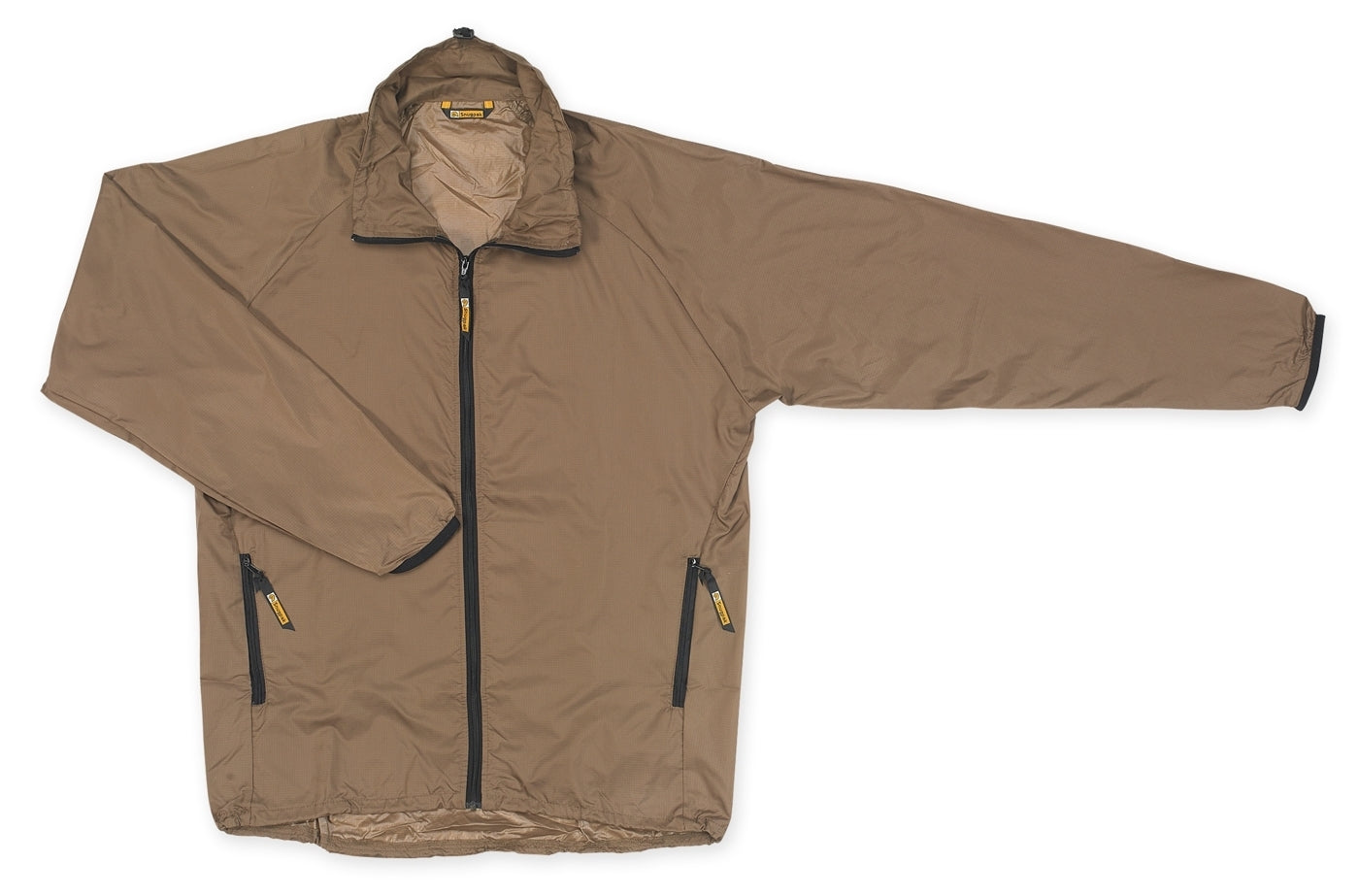 SnugPak Vapour Active Wind Top Jacket Coyote Thermal Materials