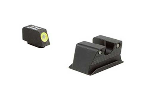 Trijicon HD High Definition Front Outline Night Sight, Walther PPS/PPX - Yellow