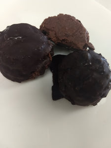 Chocolate Protein Truffle Bombs (Vegan,GF)