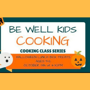 HALLOWEEN LUNCH BOX TREATS - AGES 9 - 12