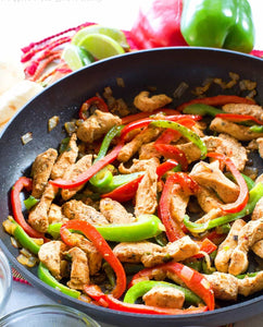 Chicken Fajita over Zoodles