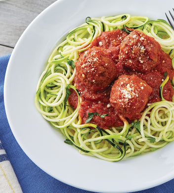 Meatball Marinara with Zoodles