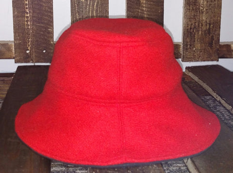 Red Wool Boonie