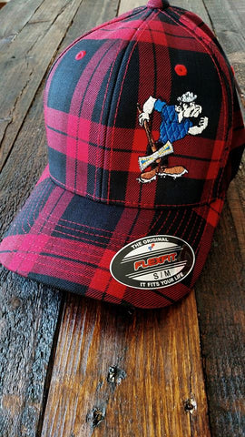 Libby Logger Embroidered mascot hat