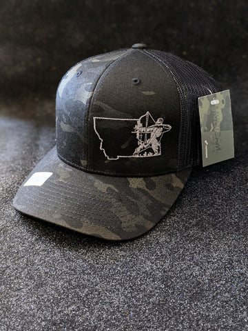 Montana Bow Hunter Cap - Multicam