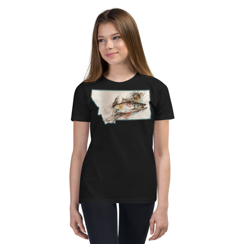 Youth Fish Painting T-Shirt