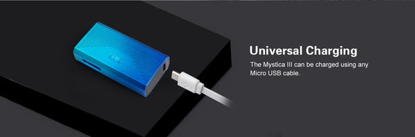 Charges via USB & supports passthrough charging for those times you simply just cannot wait.