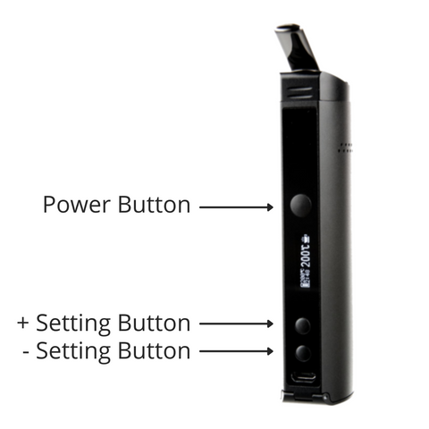 Xmax Starry Power Button