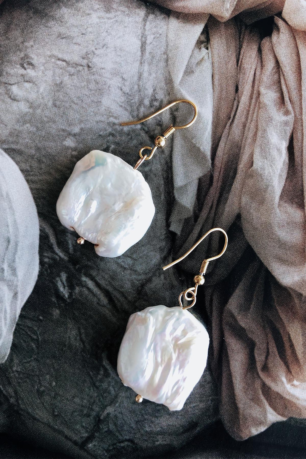 Freshwater Pearl Gabrielle Earrings