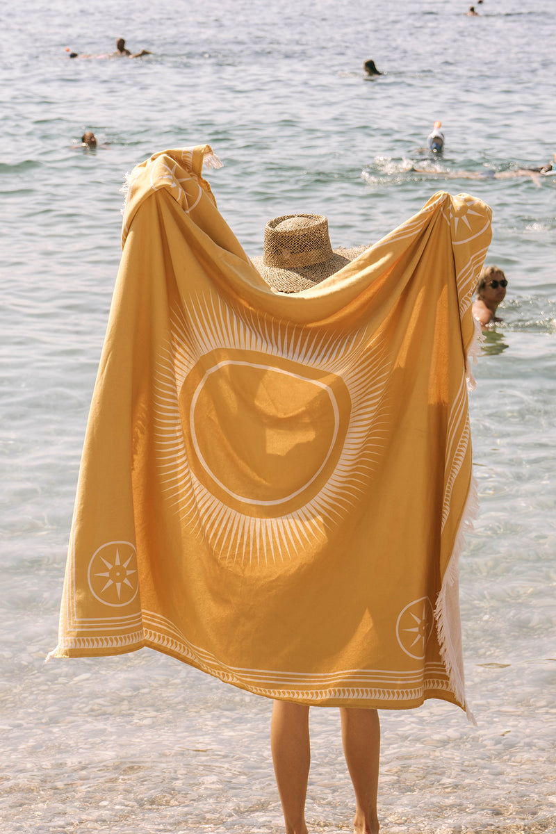 The Beach People Travel Towel, Mon Soleil