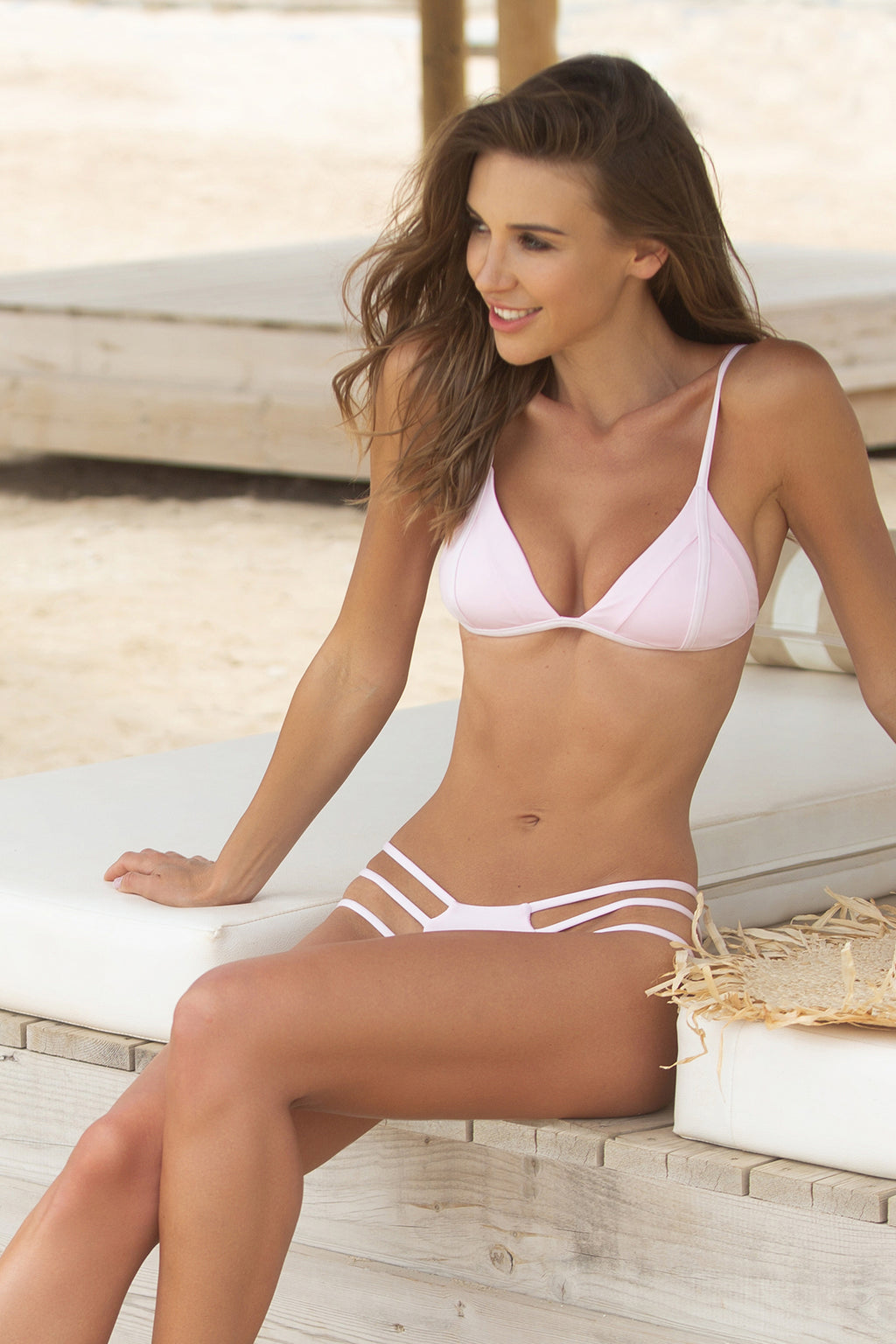 Valentina Bikini with Sienna Bottom, Rose Water