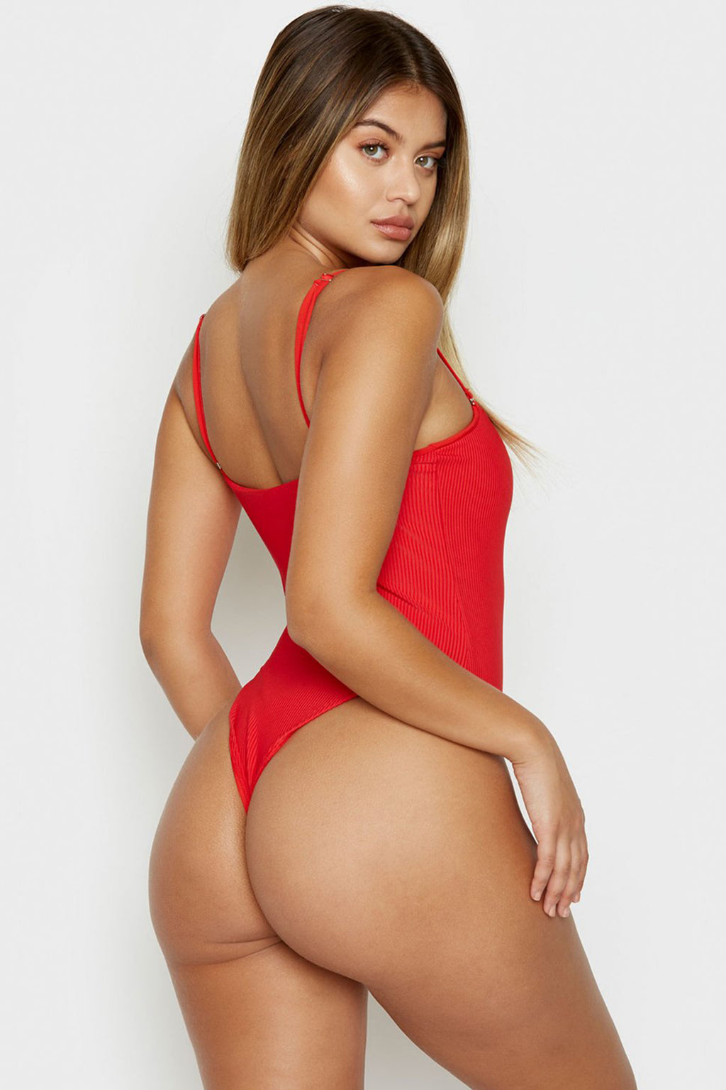 Flash One Piece, Red