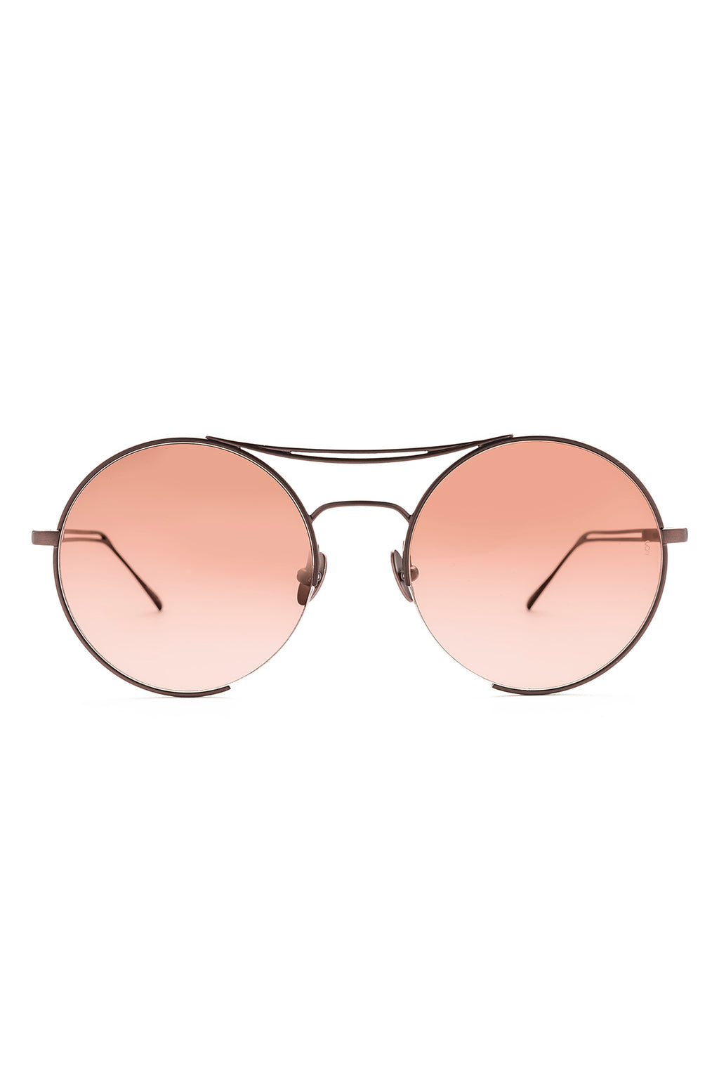 GOLDIE Sunglasses, Brushed Rose Gold