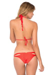 Cosita Buena Zig Zag Reversible Bikini, Girl on Fire