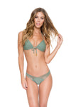Cosita Buena Push Up Bandeau Bikini, Armed & Ready