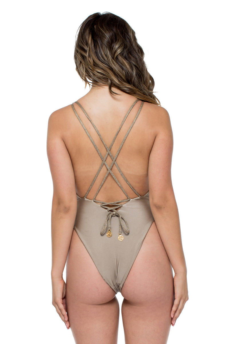 Compai Reversible One Piece, Bronce