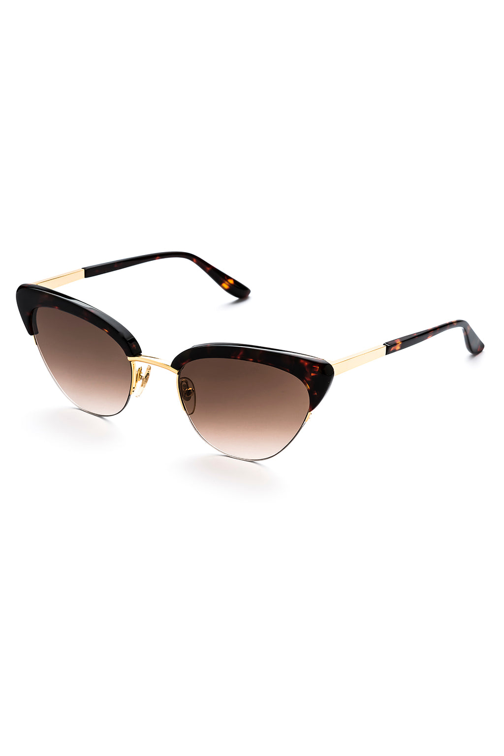 PIXIE Sunglasses, Dark Chocolate Tortoishell