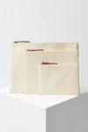 The Beach People Paper Straw Clutch Trio