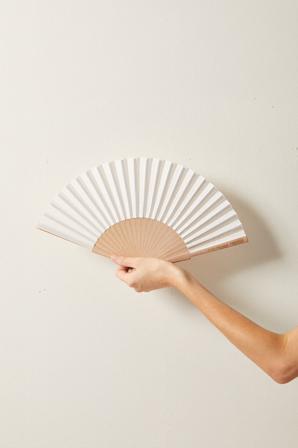 The Beach People Fan, Ivory