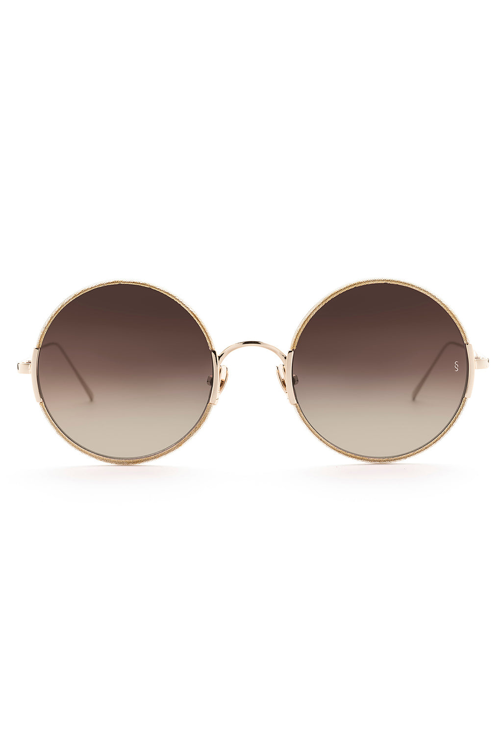 YETTI Sunglasses, White Gold Metal