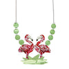 Erstwilder Necklace Flamboyant Flamingo Fair