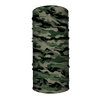 Face Shield / Tubular Bandana • Green Military Camo