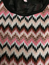 Womens Lace Zig Zag Top