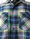 mens wear Blue and green Check 100% Cotton Mens shirt Checked Shirt daylesford fashion men's Streetwear Cotton daylesford Buy Fashion Australia