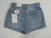 Ladies Denim Shorts • High Rise