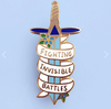 Jubly Umph Lapel Pin • Fighting Invisible Battles