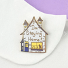 Jubly Umph Lapel Pin • I'm Staying Home