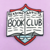 Jubly Umph Embroidered Patch • Reading Addicts