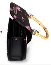 Womens Bag Liquorbrand Flamingo • Bamboo Handle