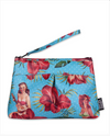 Liquorbrand Makeup Bag Hula Girl • BLUE