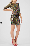 Multi-coloured Sequin Dress