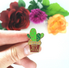 Lapel Pin • Don't Be a Prick Cactus